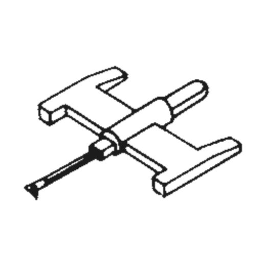 Magnavox 560347-1 Stylus : Brand:Tonar, Info:Aftermarket Stylus, Stylus:Spherical