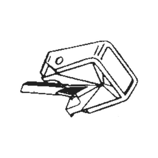 946/D66 Stylus for Philips GP-401 mk II : Brand:Tonar, Info:Aftermarket Stylus, Stylus:Spherical Diamond Mono