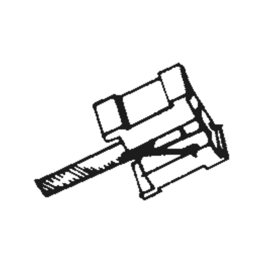 Jelco MCI-5 Stylus : Brand:Tonar, Info:Aftermarket Stylus, Stylus:Spherical