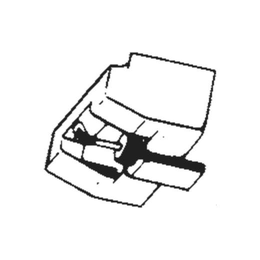Mitsubishi 3D-25 Stylus : Brand:Tonar, Info:Aftermarket Stylus, Stylus:Spherical