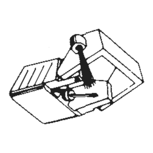 Electro Voice 2671 D / 6012 D : Brand:Tonar, Info:Aftermarket Stylus  (VM-35EL for AT-VM35), Stylus:Elliptical