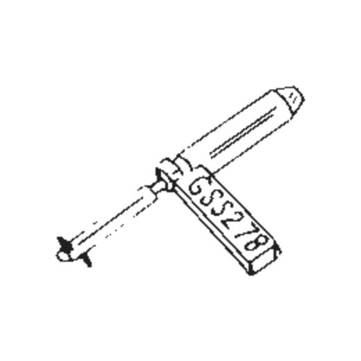 Garrard GSS-2 Stylus : Brand:Tonar, Info:Aftermarket Stylus, Stylus:Dual Spherical Diamond