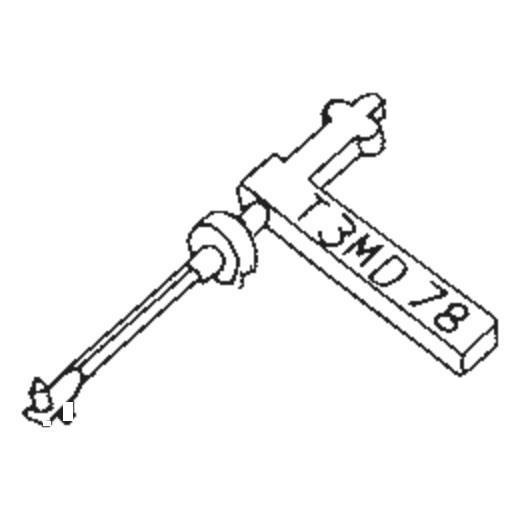 Tetrad T-3 MS Stylus : Brand:Tonar, Info:Aftermarket Stylus, Stylus:Dual Sapphire 78RPM Mono + Diamond Stereo