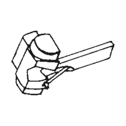 N97LT stylus for Shure M97LT : Brand:Tonar, Info:Aftermarket Stylus, Stylus:Spherical