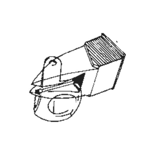 DN 155 E Stylus for Dual ULM / TKS 55 E : Brand:Tonar, Info:Aftermarket Stylus, Stylus:Elliptical