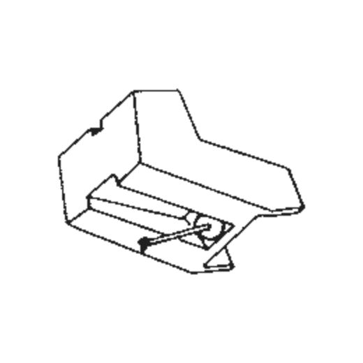 R-L3 Stylus for A.D.C. L3 : Brand:Tonar, Info:Aftermarket Stylus, Stylus:Spherical