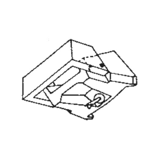 A.D.C. R-Q 4 Stylus : Brand:Tonar, Info:Aftermarket Stylus, Stylus:Spherical