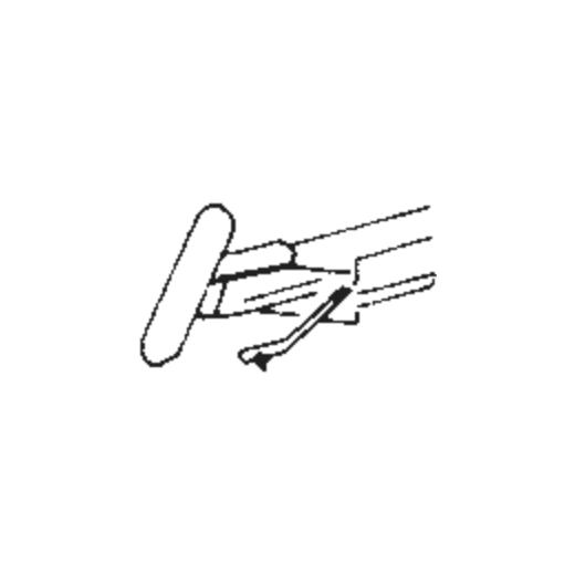 Japan Columbia/Denon DSN-4 Stylus : Brand:Tonar, Info:Aftermarket Stylus, Stylus:Spherical