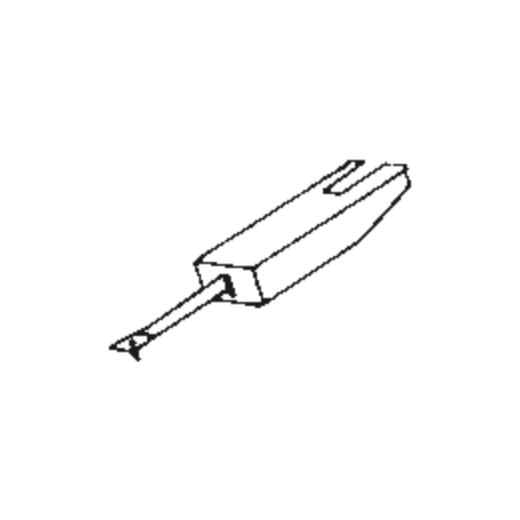 Japan Columbia/Denon DSN-5 Stylus for PU-830 and PU-831 : Brand:Tonar, Info:Aftermarket Stylus, Stylus:Spherical