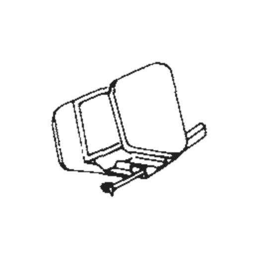 Pioneer PN-550 E Stylus : Brand:Tonar, Info:Aftermarket Stylus, Stylus:Elliptical