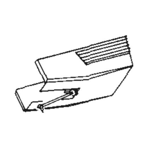 ATN-122 EP/LP stylus for Audio Technica AT-122 : Brand:Tonar, Info:Aftermarket Stylus  (ATN-122LP for AT-122LP), Stylus:Shibata