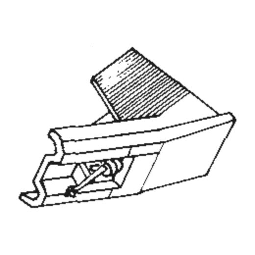 Nivico DT-57 Stylus : Brand:Tonar, Info:Aftermarket Stylus, Stylus:Elliptical
