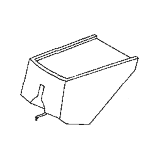 National/Technics EPS-53 Stylus for EPC-P53 : Brand:Tonar, Info:Aftermarket Stylus, Stylus:Elliptical