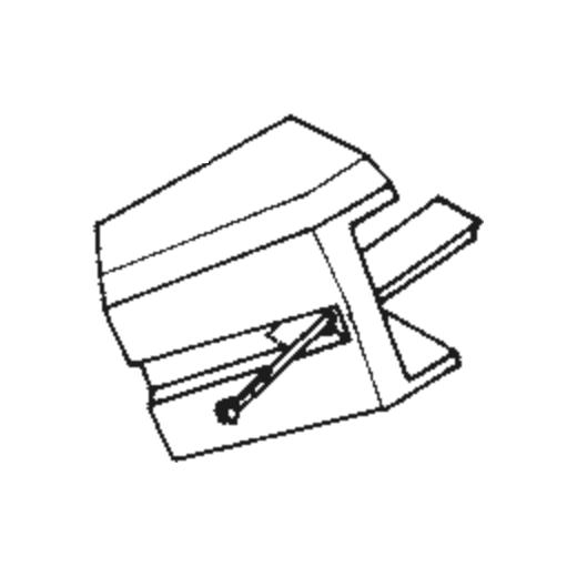 Piezo YM-818 Stylus : Brand:Tonar, Info:Aftermarket Stylus, Stylus:Spherical