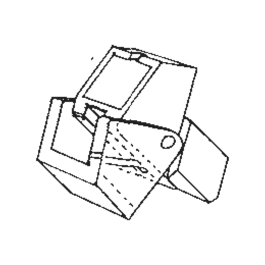 R-PSX-20 Stylus for A.D.C. PSX-20 : Brand:Tonar, Info:Aftermarket Stylus, Stylus:Elliptical