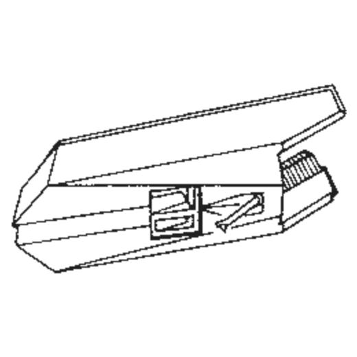 Toshiba N-74 C Stylus : Brand:Tonar, Info:Aftermarket Stylus, Stylus:Spherical