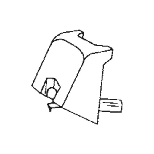 DTL-2 Stylus for Pickering TL-2 : Brand:Tonar, Info:Aftermarket Stylus, Stylus:Elliptical