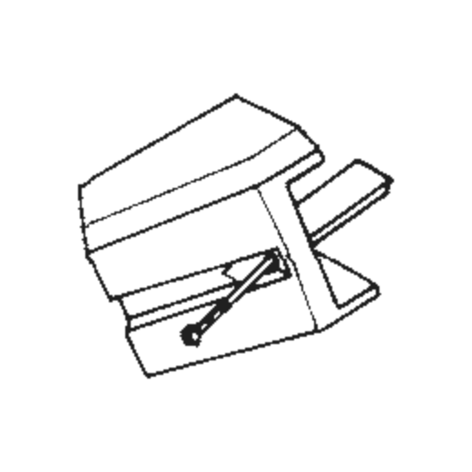 Sharp STY-143 Stylus : Brand:Tonar, Info:Aftermarket Stylus, Stylus:Spherical