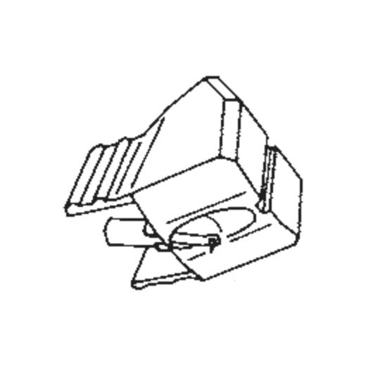 RS-10 styli for Akai PC-10 : Brand:Tonar, Info:Aftermarket Stylus, Stylus:Spherical