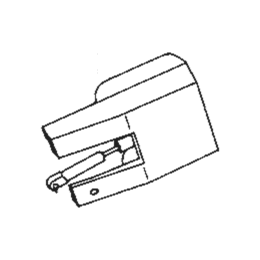 U.P.O.s RED CZ-699-4 Stylus : Brand:Tonar, Info:Aftermarket Stylus, Stylus:Spherical