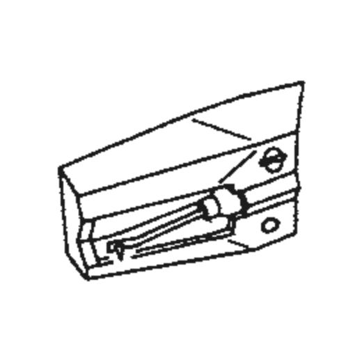 U.P.O.s RED Stylus : Brand:Tonar, Info:Aftermarket Stylus, Stylus:Spherical Diamond Mono