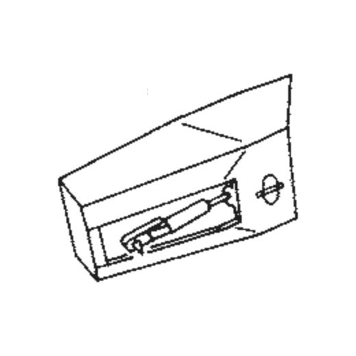 U.P.O.s DK.GREEN ALL PLAST Stylus : Brand:Tonar, Info:Aftermarket Stylus, Stylus:Spherical Diamond Mono