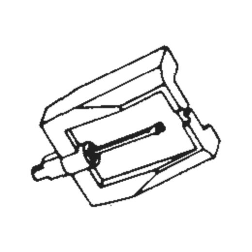 National/Technics EPS-18 Stylus for EPC-34 : Brand:Tonar, Info:Aftermarket Stylus, Stylus:Spherical