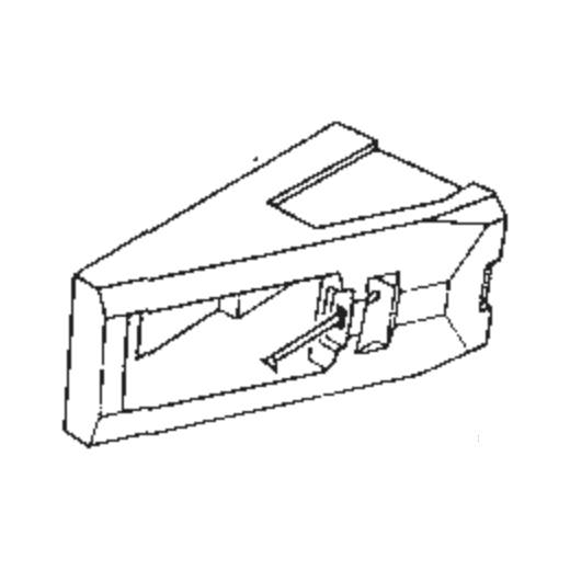 Pioneer PN-291 Stylus : Brand:Tonar, Info:Aftermarket Stylus, Stylus:Spherical