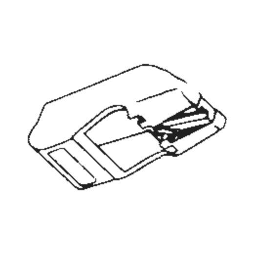 R-K3E Stylus for A.D.C. K3E : Brand:Tonar, Info:Aftermarket Stylus, Stylus:Elliptical