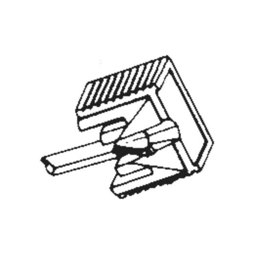 Onkyo DN-106 ST Stylus : Brand:Tonar, Info:Aftermarket Stylus, Stylus:Spherical