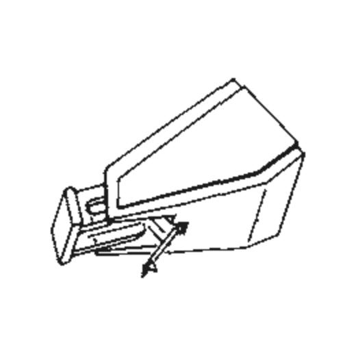Pioneer PNK-75 Stylus : Brand:Tonar, Info:Aftermarket Stylus, Stylus:Spherical