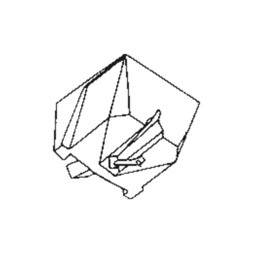 Jelco MC-29 Stylus : Brand:Tonar, Info:Aftermarket Stylus, Stylus:Spherical