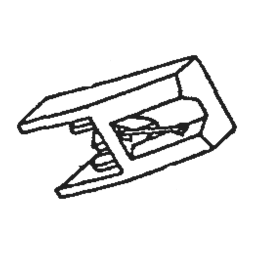 ST-09D Stylus for Sanyo MG-09 / MG2501 : Brand:Tonar, Info:Aftermarket Stylus, Stylus:Spherical Diamond Mono