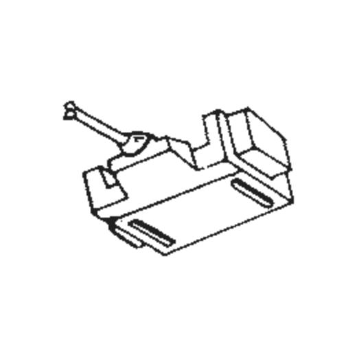 Japan Columbia/Denon DSN-25 Stylus for JC11 and JM11 : Brand:Tonar, Info:Aftermarket Stylus, Stylus:Spherical