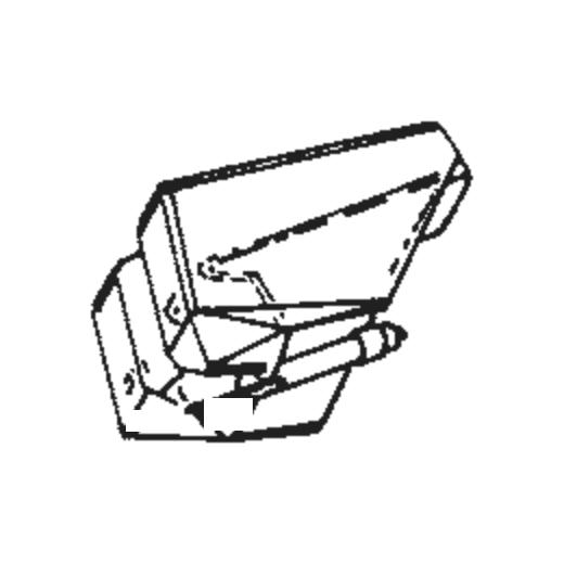 National/Technics EPS-55 Stylus for EPC-P55 : Brand:Tonar, Info:Aftermarket Stylus, Stylus:Spherical
