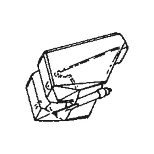 Nivico DT-62 Stylus : Brand:Tonar, Info:Aftermarket Stylus, Stylus:Spherical