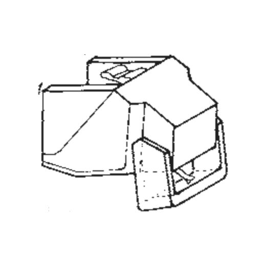 Azden YM-10 C/E/VE Stylus : Brand:Tonar, Info:Aftermarket Stylus, Stylus:Elliptical