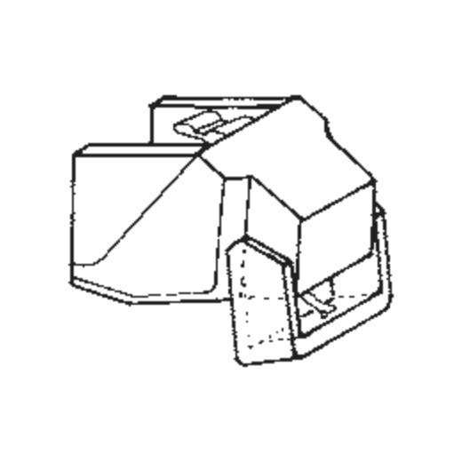 Empire S-3 D Stylus : Brand:Tonar, Info:Aftermarket Stylus, Stylus:Spherical