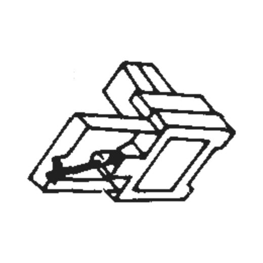 National/Technics EPS-45 Stylus for EPC-450C : Brand:Tonar, Info:Aftermarket Stylus, Stylus:Shibata