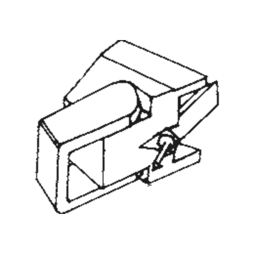 S-295 LT Stylus for Empire 295 LT : Brand:Tonar, Info:Aftermarket Stylus, Stylus:Elliptical