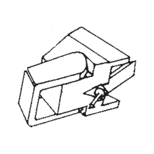 S-485 LT Stylus for 485 LT : Brand:Tonar, Info:Aftermarket Stylus, Stylus:Elliptical