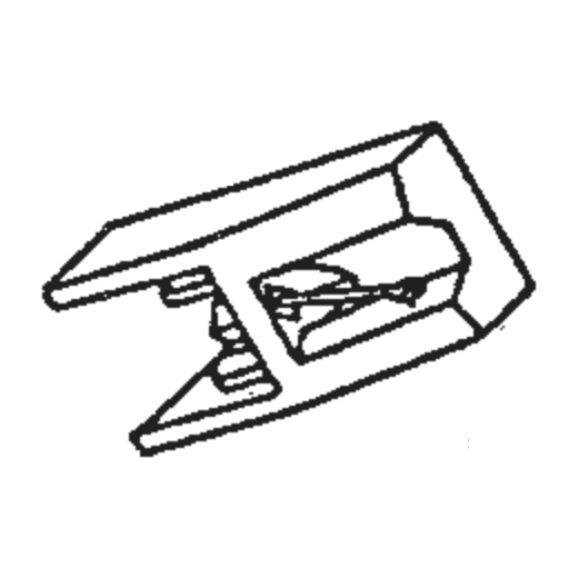 Sharp STY-152 Stylus : Brand:Tonar, Info:Aftermarket Stylus, Stylus:Spherical