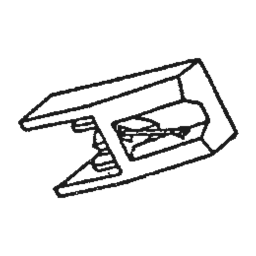 Sharp STY-154 Stylus : Brand:Tonar, Info:Aftermarket Stylus, Stylus:Spherical