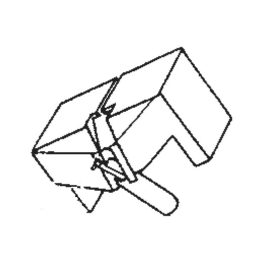 Japan Columbia/Denon DSN-36 Stylus for DL-109 : Brand:Tonar, Info:Aftermarket Stylus, Stylus:Spherical