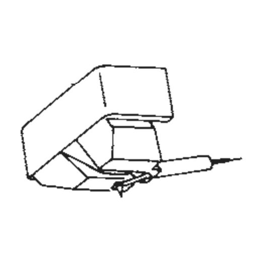 Japan Columbia/Denon DSN-46 Stylus for DL-202 : Brand:Tonar, Info:Aftermarket Stylus, Stylus:Elliptical