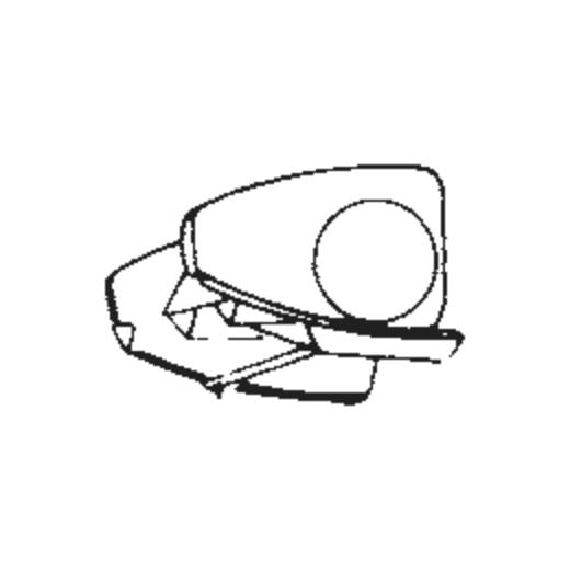 Micro V-3200 XE Stylus : Brand:Tonar, Info:Aftermarket Stylus, Stylus:Elliptical
