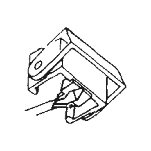 Elac D-795 E Stylus : Brand:Tonar, Info:Aftermarket Stylus, Stylus:Elliptical