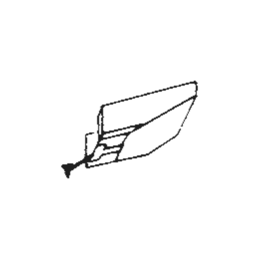 N.E.C. LP-45 D Stylus : Brand:Tonar, Info:Aftermarket Stylus, Stylus:Spherical