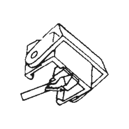 Elac DN-796 H Stylus : Brand:Tonar, Info:Aftermarket Stylus, Stylus:Shibata