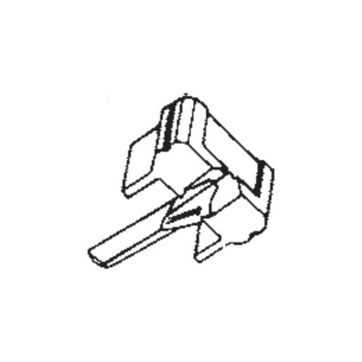 N91 E/ED/G/GD/SAS Stylus for Shure M91 : Brand:JICO, Info:N-91ED SAS/S (E086038) JICO Super Analog Stylus (neoSAS) on Sapphire for Shure M91, Stylus:SAS on Sapphire